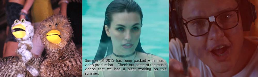 Summer '15 Music Videos