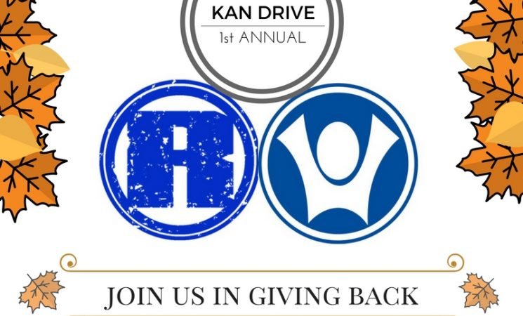 First Annual Kan Drive