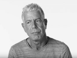 A Moment with Anthony Bourdain