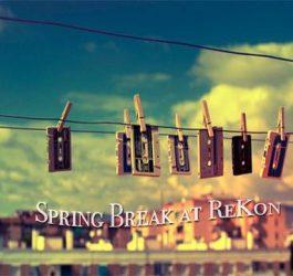 A Week of Spring Break Mixes