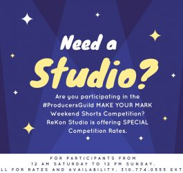Short Competition Special Studio Rate